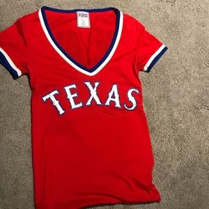 MLB Texas ranger PINK T-shirt